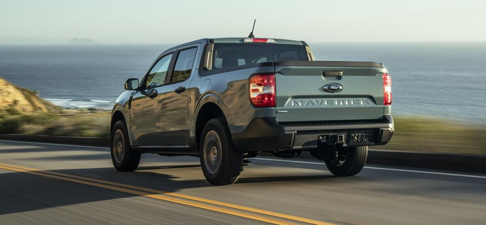 2022 Ford Maverick Rear Driving