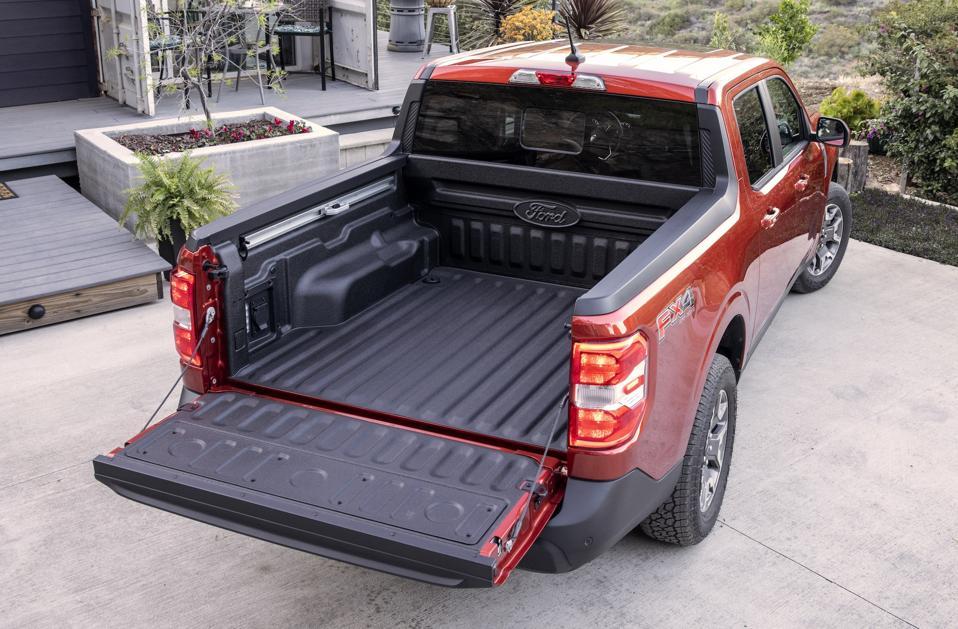 2022 Ford Maverick Bed