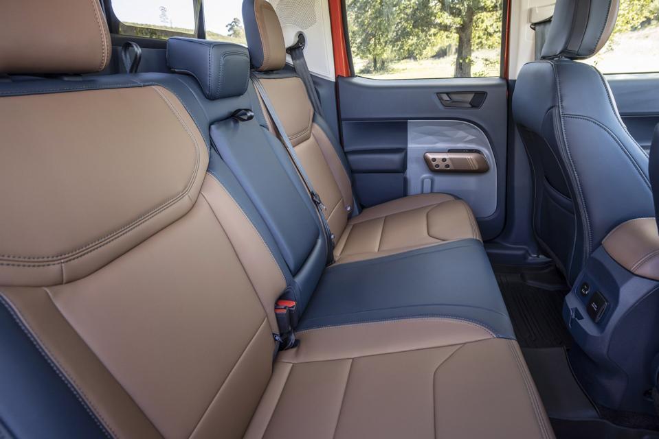 2022 Ford Maverick Rear Seat