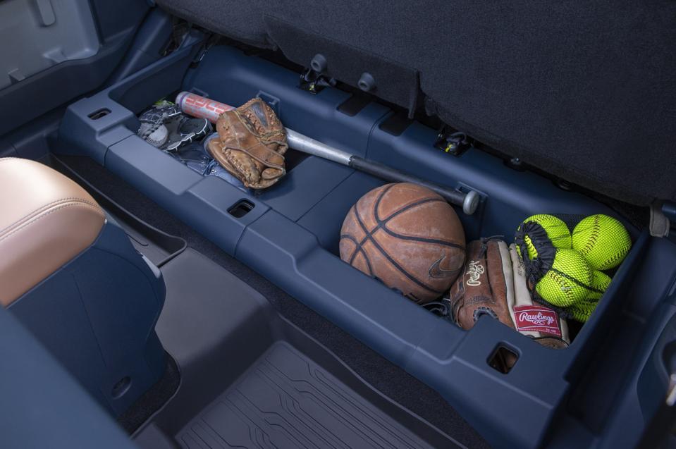 2022 Ford Maverick Under Seat Storage