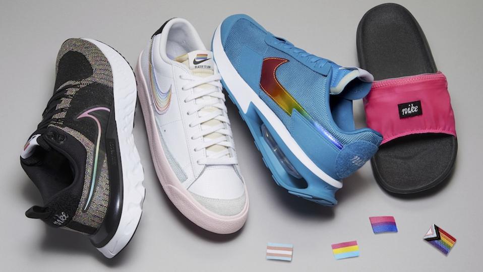 Nike footwear for Pride 2021