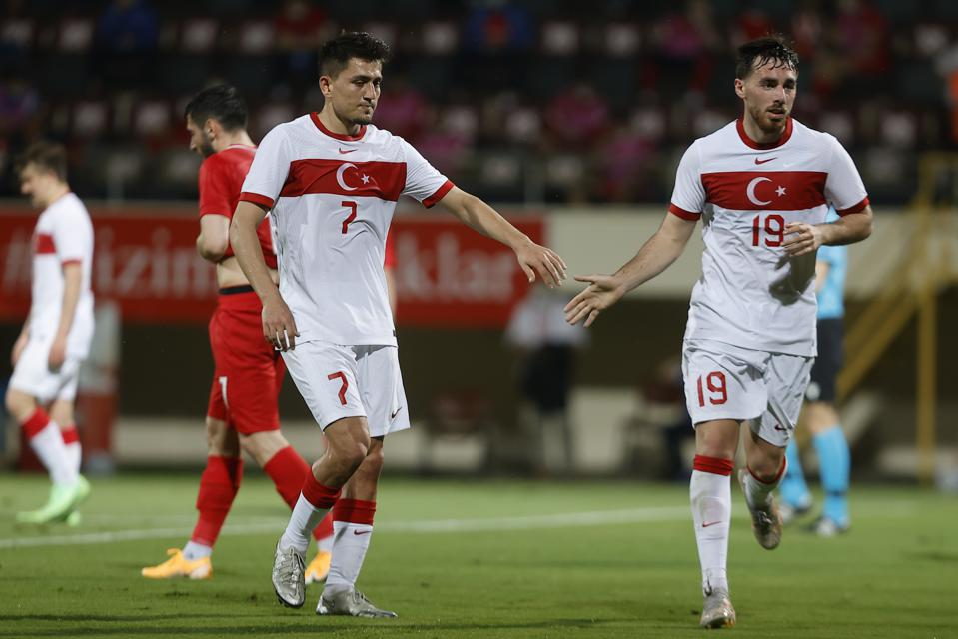Orkun Kokcu and Cengiz Under: Turkey v Azerbaijan