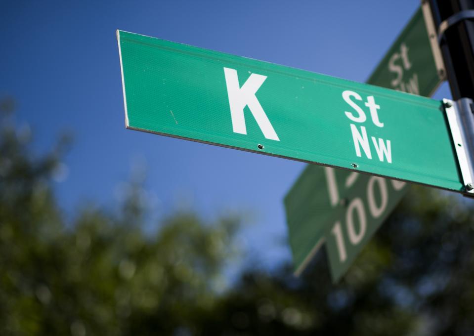 K Street...