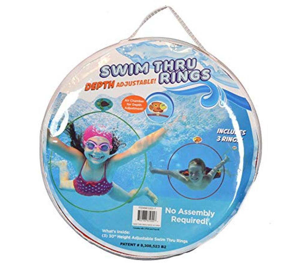 Water Sports Swim Thru Rings Assorted Pack