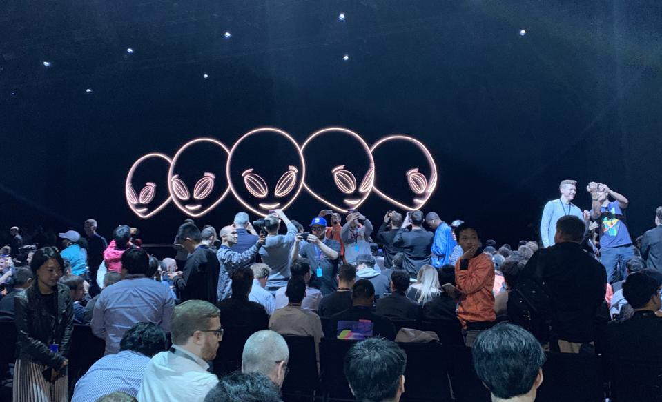 A snapshot of WWDC 2019, just before it started.