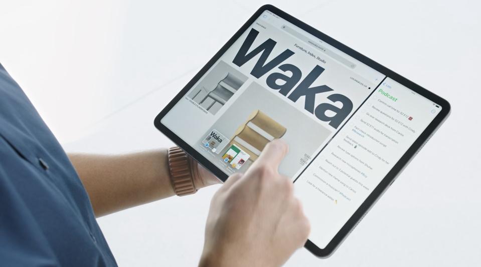 Multi-tasking on iPad in iPadOS 15.