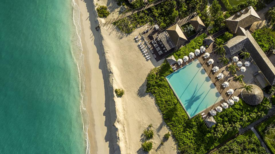 Como Parrot Cay resort in the Turks and Caicos Caribbean islands