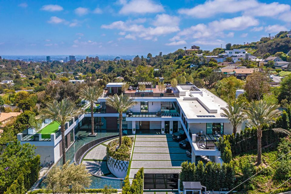 A $44 million home in Brentwood, Los Angeles.