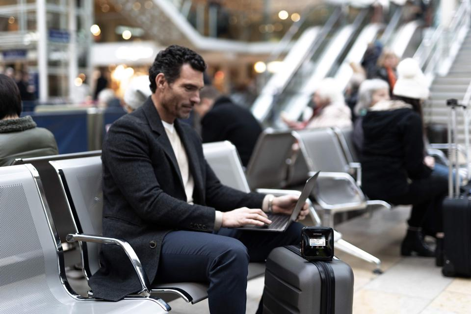 NETGEAR Nighthawk M5 5G WiFi 6 Mobile Router for business travel