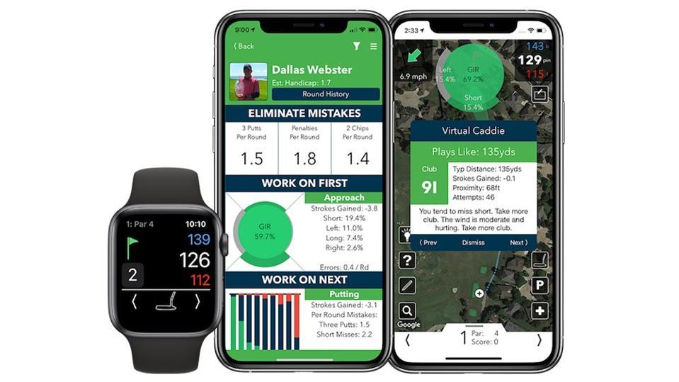 V1 Golf app