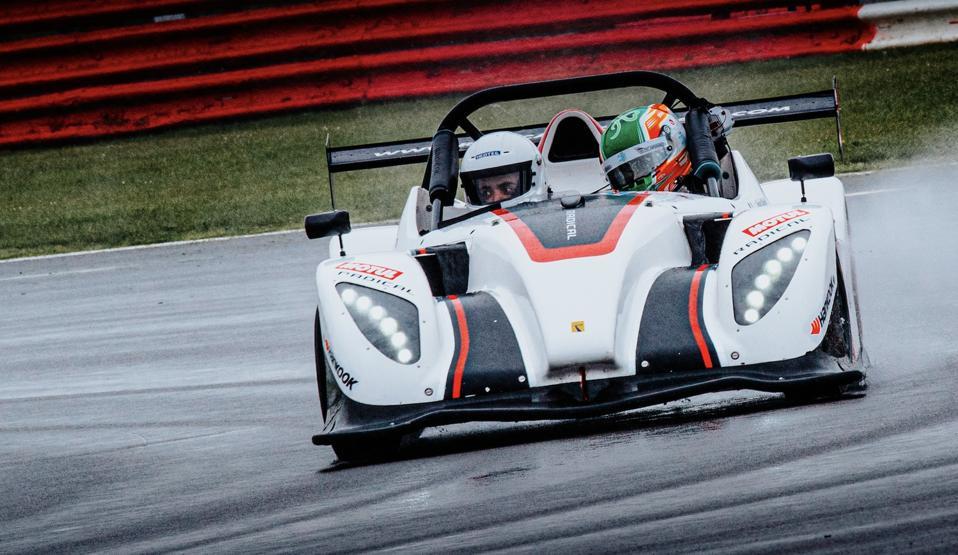 Radical SR1 car at Silverstone GP Circuit