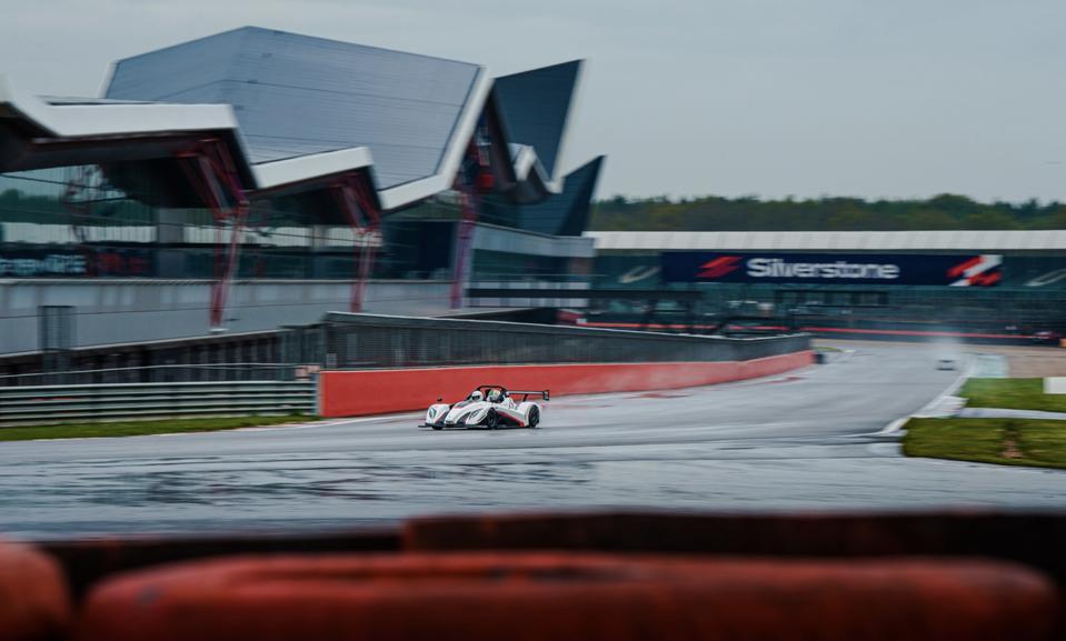 Radical SR1 at the Silverstone GP Circuit