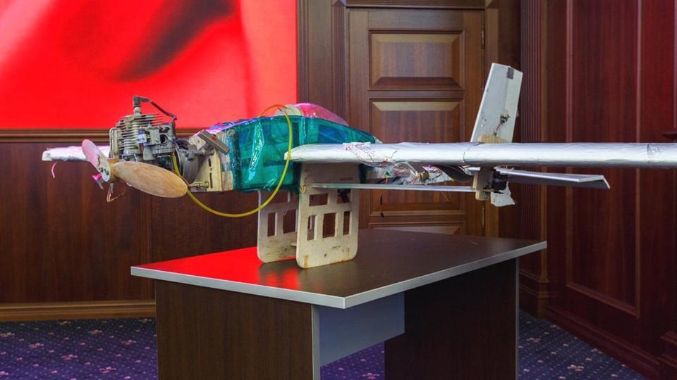 Home made attack drone