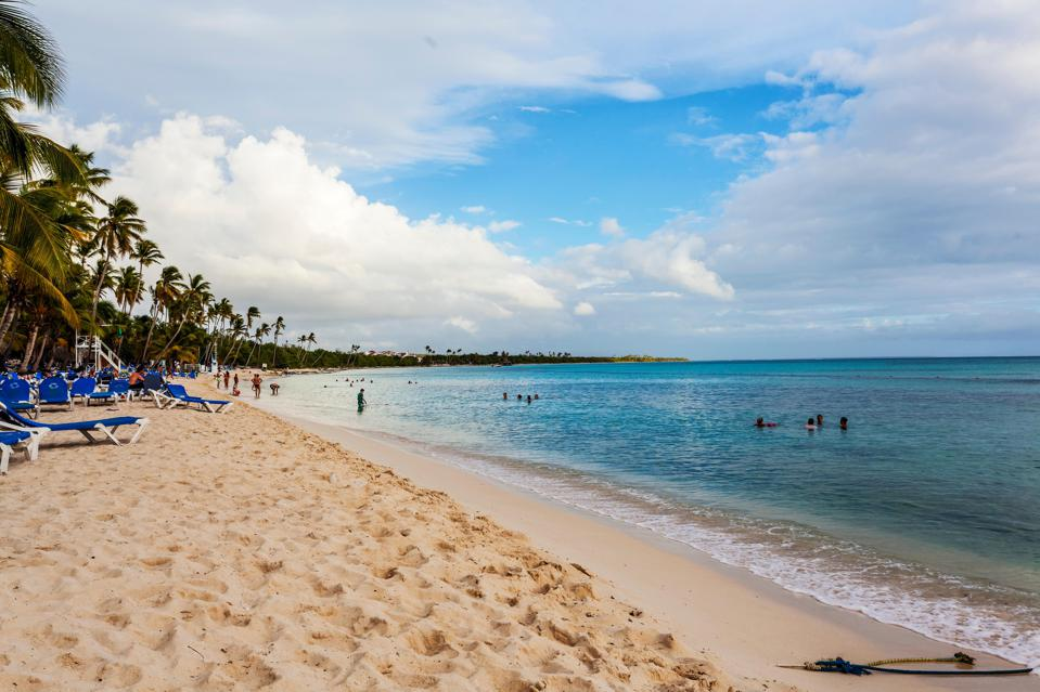 Beach in Bayahibe, Santo Domingo, Dominican Republic, Caribbean, North America