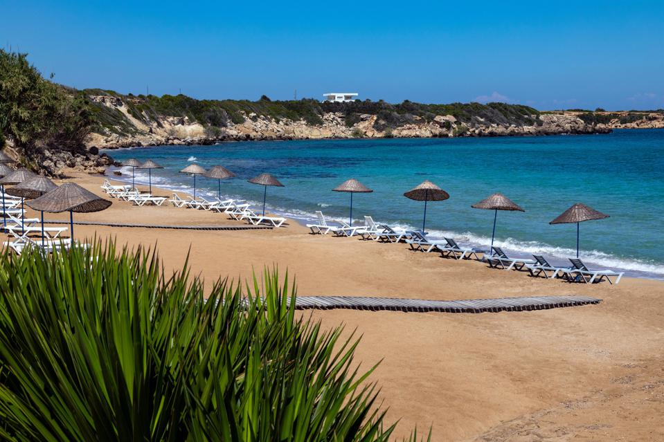A beach at Karpasia, Northern Cyprus