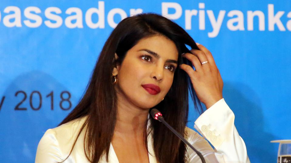 UNICEF Goodwill Ambassador Priyanka Calls Support For Rohingya Children