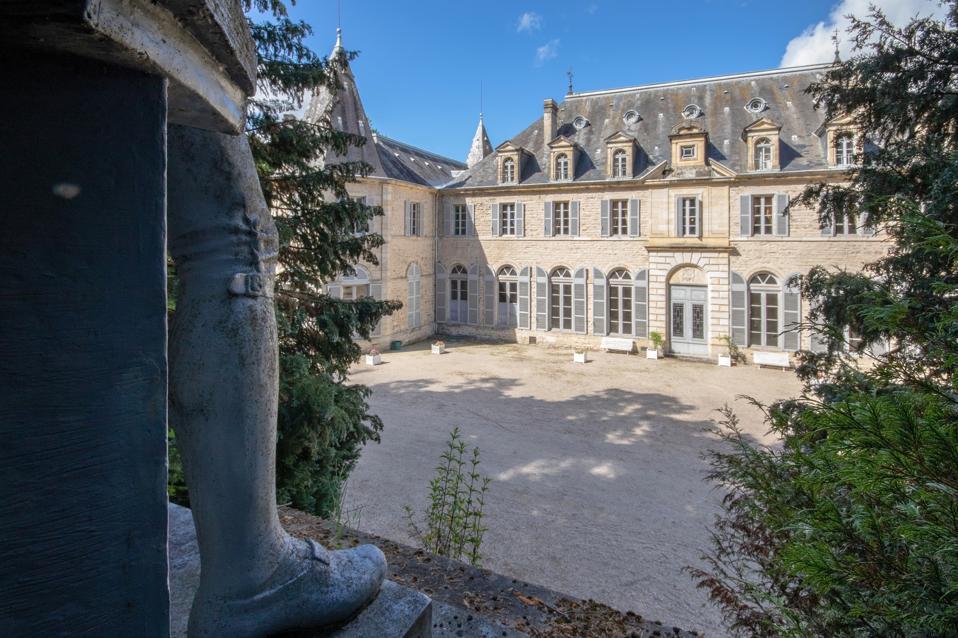 17th century castle 63265 Orléat, Auvergne-Rhône-Alpes, France