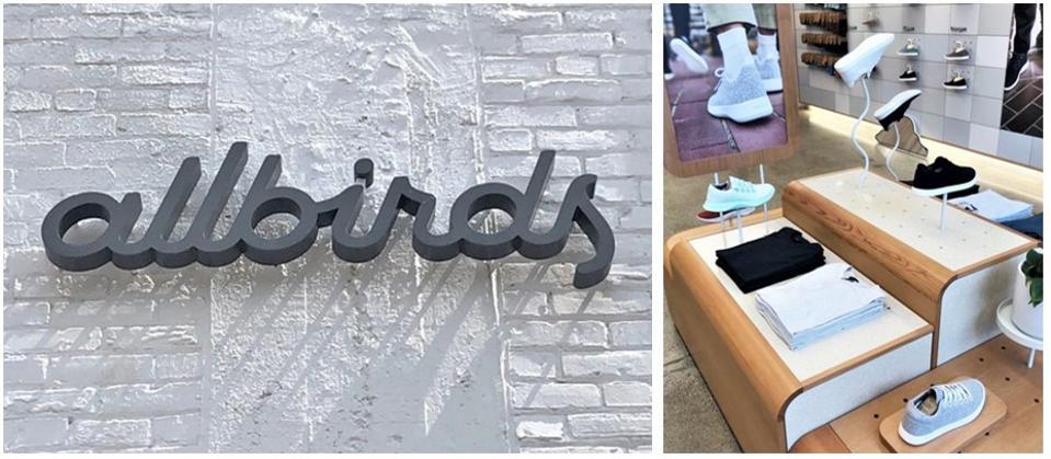 Allbirds second ″birdhouse″ in in Minneapolis's hipster Northloop neighborhood.