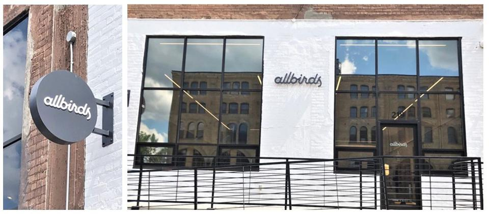 Allbirds ″hipster″ Northloop Warehouse District store is their second Midwestern location.