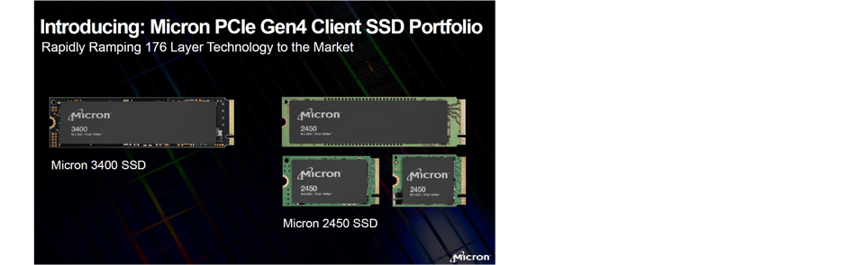 Micron's 176-layer NAND SSDs