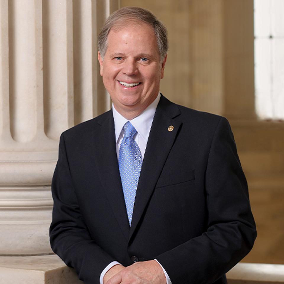 Head shot of former Sen. Doug Jones