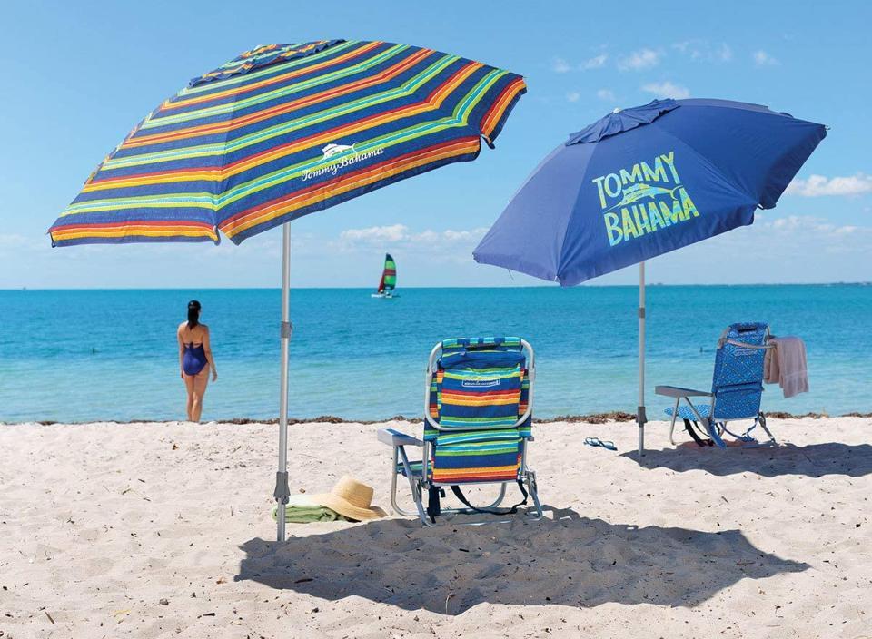 Best beach umbrella: Tommy Bahama Beach Umbrella