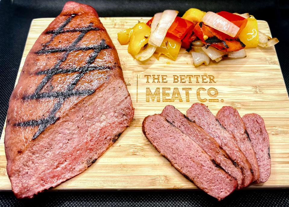 The Better Meat Co. can turn a microflora into high protein plant-based steak.