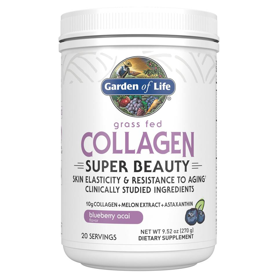 Garden of Life Super Beauty Blend Container.