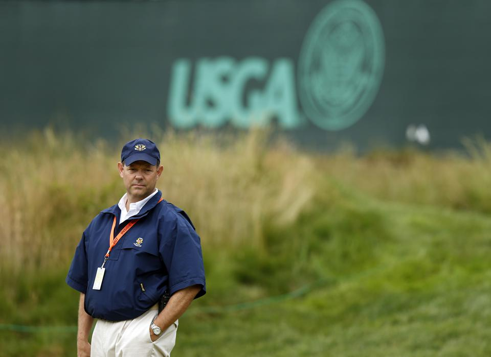 Mike Davis at 2013 U.S. Open at Merion