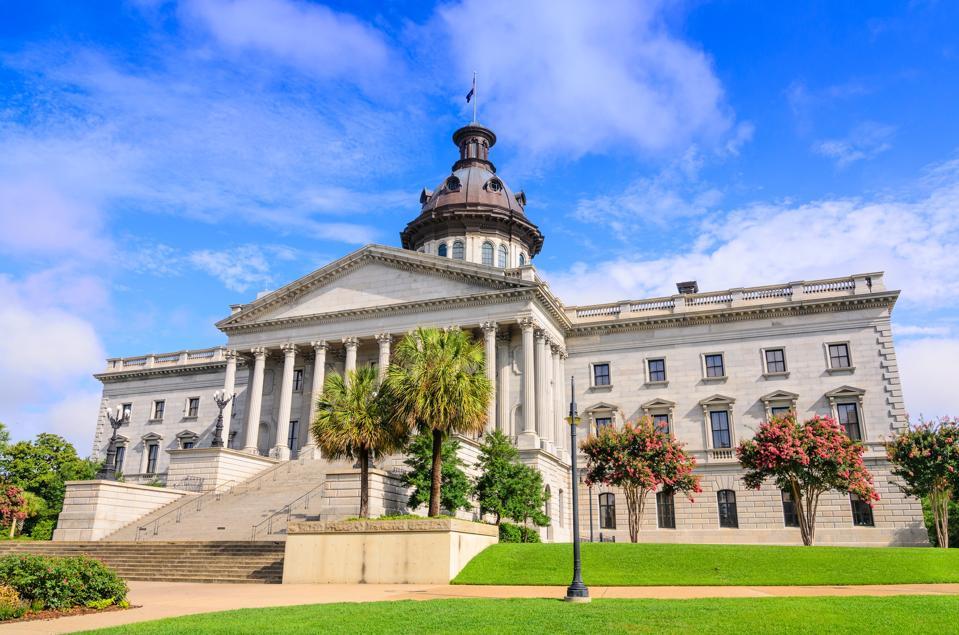 State House, Columbia South Carolina