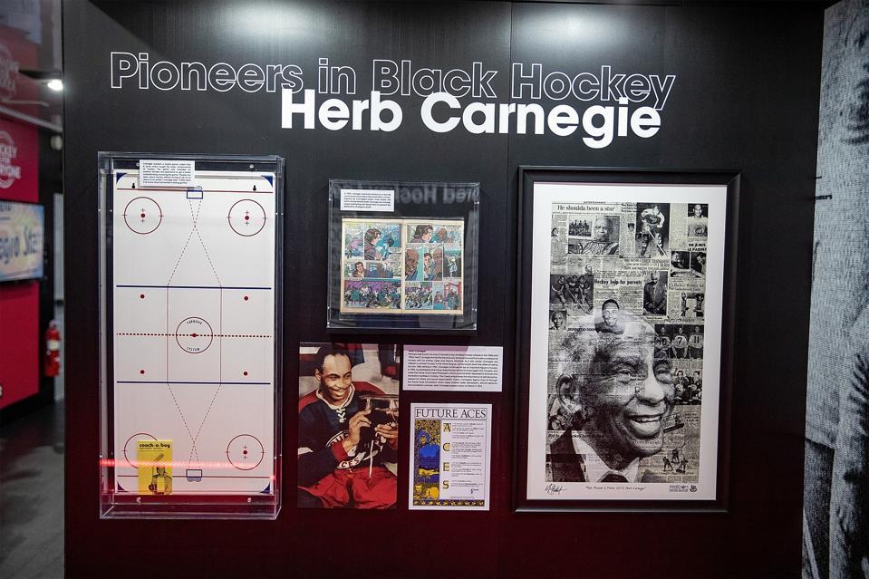 NHL Presents American Legacy Black Hockey History Tour Museum