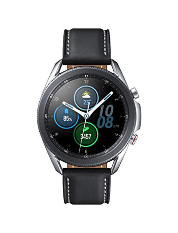 Best deals: SAMSUNG Galaxy Watch 3 (41mm, GPS, Bluetooth, Unlocked LTE) Smart Watch with Advanced Health Monitoring, Fitness Tracking, and Long lasting Battery - Mystic Silver (US Version)