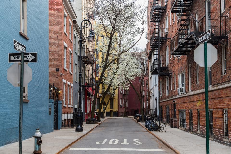 Minetta Street, Greenwich Village, New York