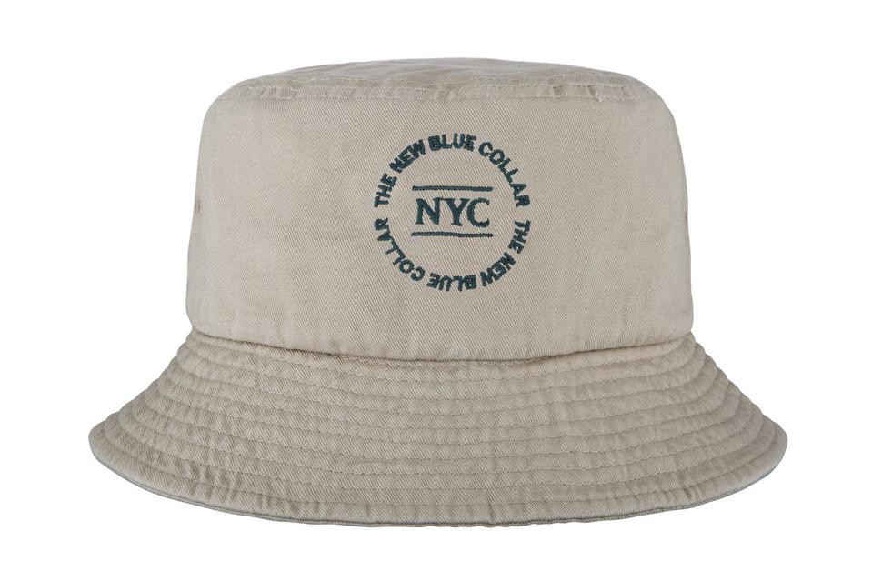 New Blue Collar: Core Bucket Hat.