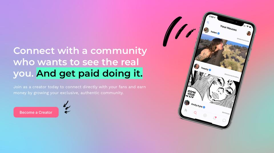 Fanhouse is a platform for creators to get paid by fans. Apple wants 30% of the fees.