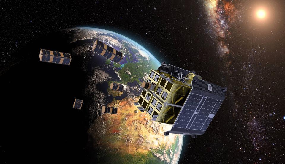 An artist's rendering of D-Orbit's ION Satellite Carrier.