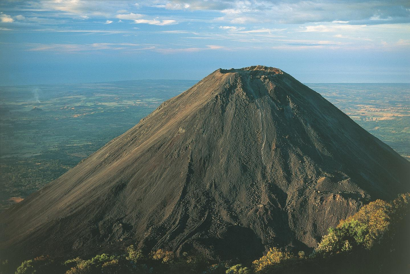 Valcano on a landscape, Izalco, Sonsonate, El Salvador