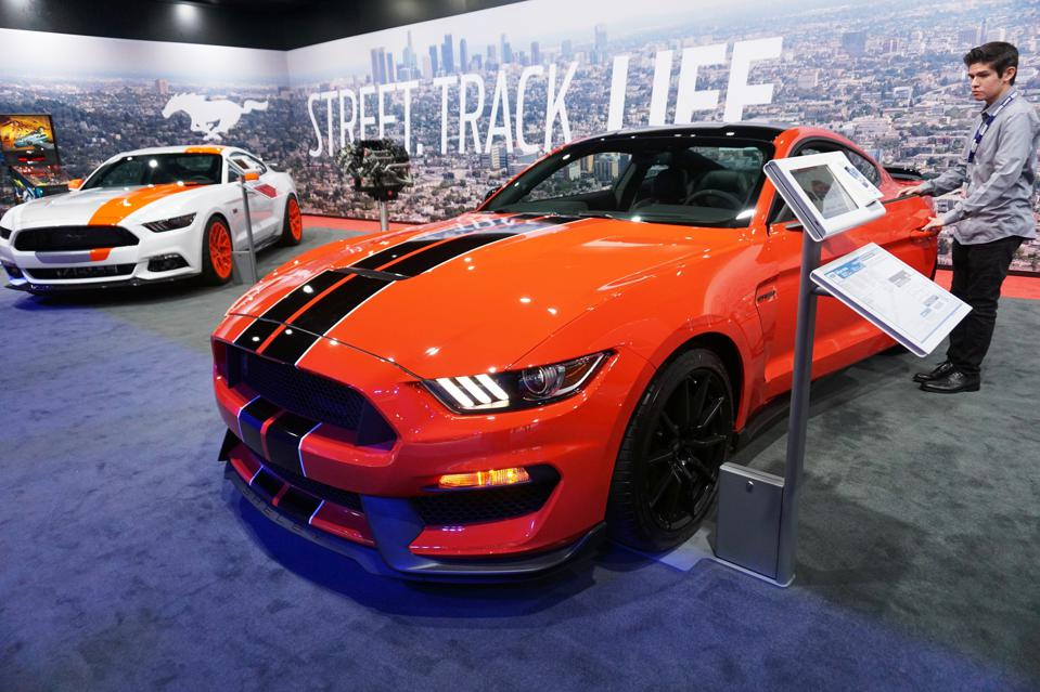 Auto Show in Los Angeles