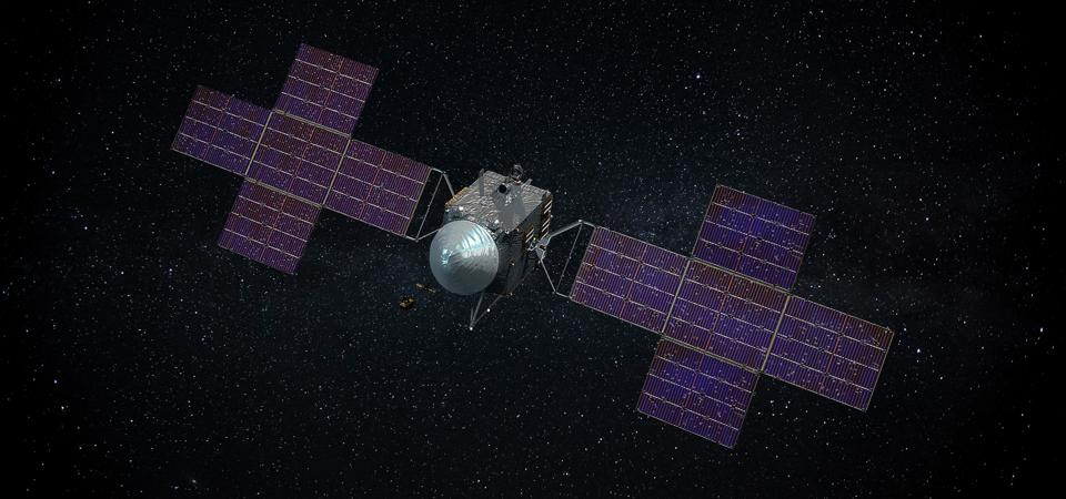 Scheduled to launch in August 2022, NASA's Psyche spacecraft will arrive at 16 Psyche on January 31, 2026 after a fly-past of Mars in 2023.
