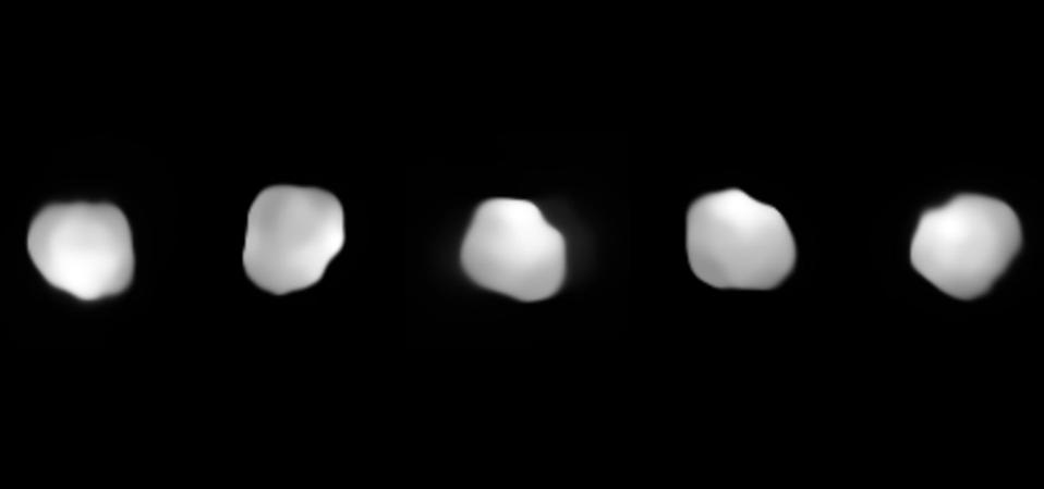 Multiple views of 16 Psyche imaged by the Very Large Telescope