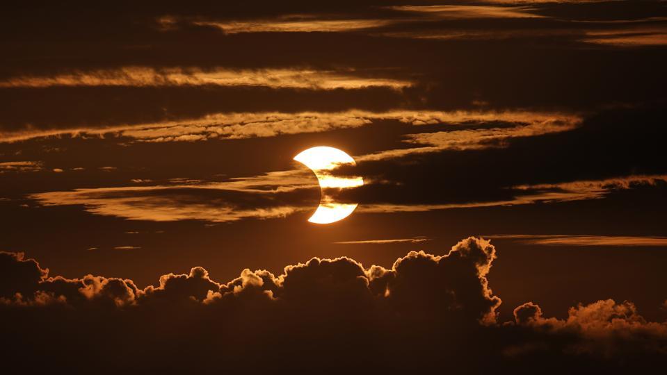 APTOPIX US Solar Eclipse Baltimore