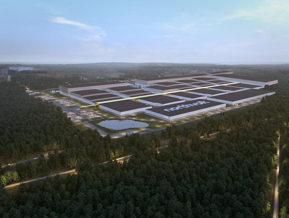 The first gigafactory will be in production by the end of the year