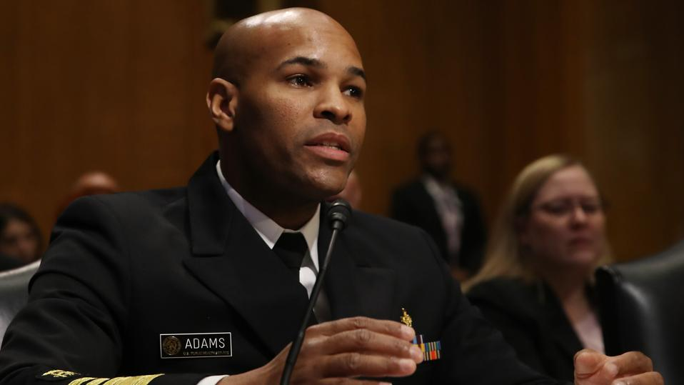 Surgeon General Jerome M. Adams Testifies Before The Senate Finance Committee On Substance Misuse