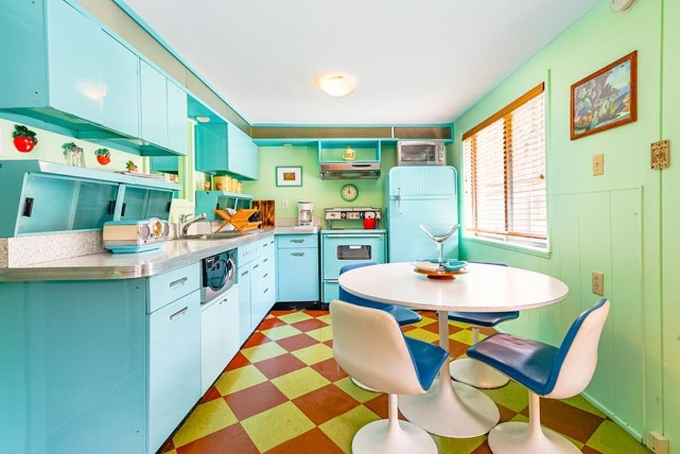 A 1950s kitchen