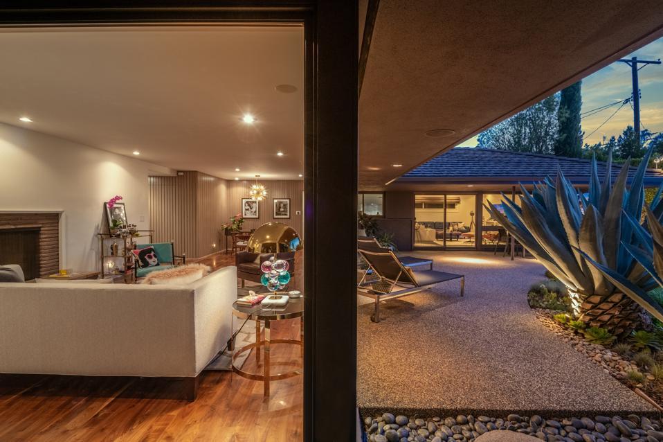 harold b zook midcentury ranch home studio city