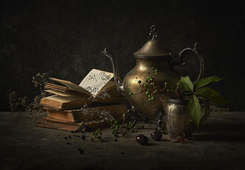 A still life photo as homage to Rembrandt