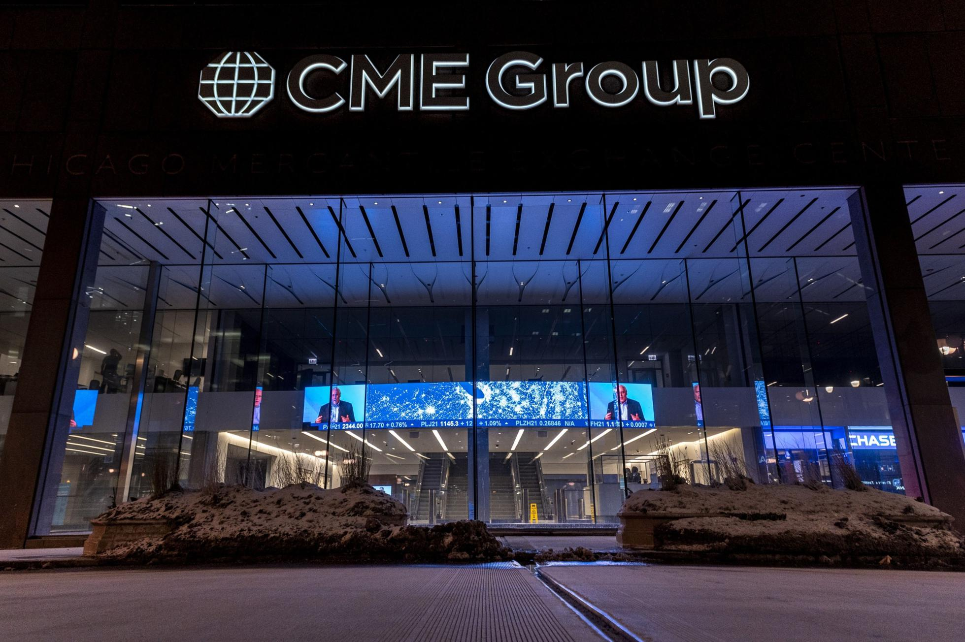 CME Group Headquarters Ahead Of Earnings Figures