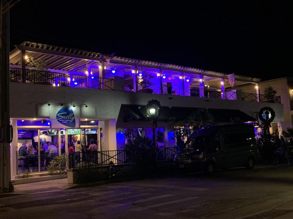 Scotty's Front Street Stage. Key West, Florida.