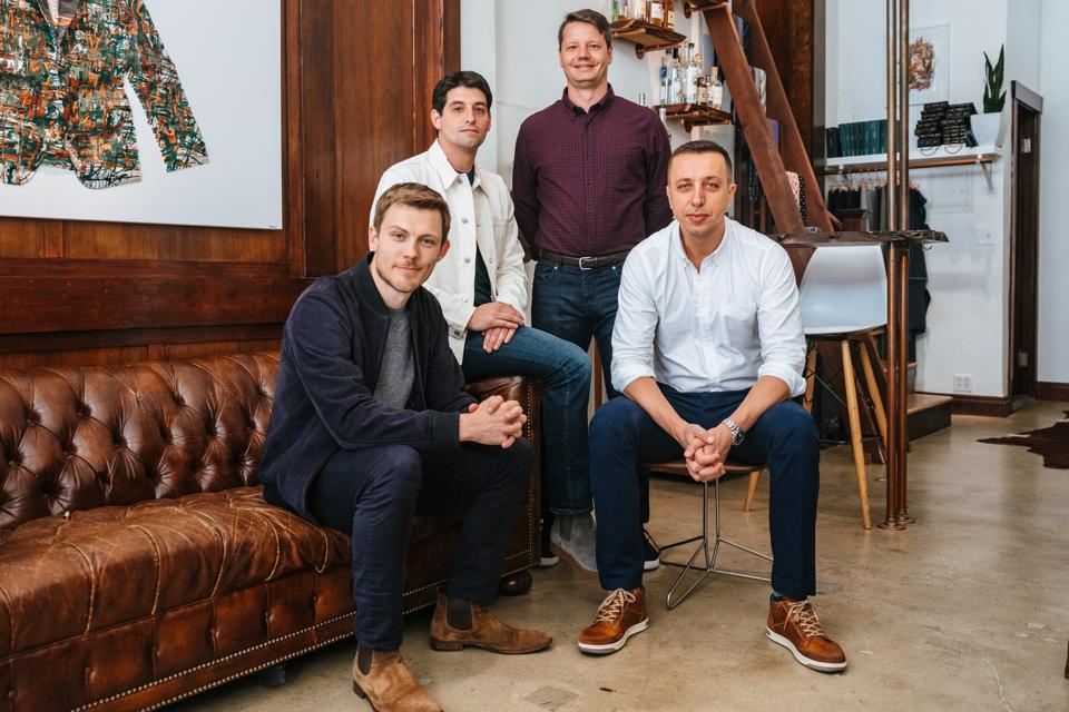 The four co-founders of the online wholesale marketplace Faire.