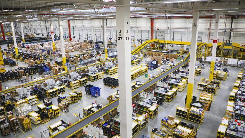 Amazon Fulfillment Center em Sosnowiec
